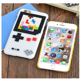 Bricks & Cover SET black for iPhone 6 (Game Boy)