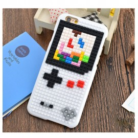 Bricks & Cover SET white for iPhone 6 (Game Boy)
